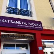 Boutique Artisans du monde Dieuze - Enseigne paysage